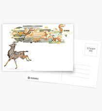 Keeper of Lands II Postcards