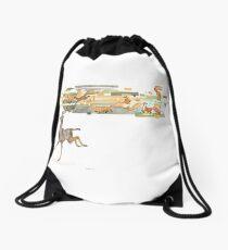 Keeper of Lands II Drawstring Bag