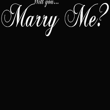 Marry Me Proposal Gift for Future Husband Wife by lulabella666