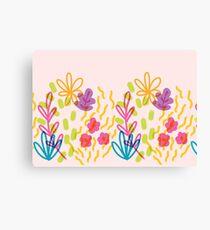 Cutesy floral Canvas Print
