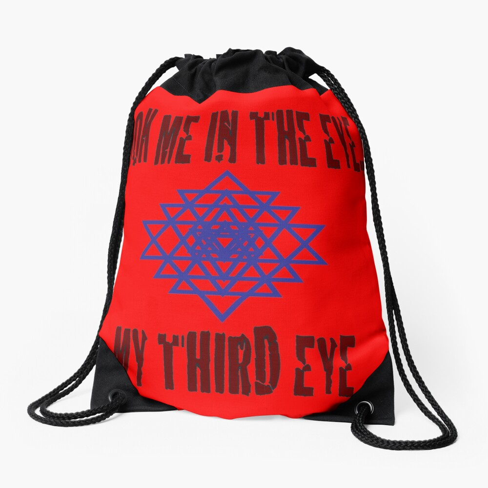 Third Eye - Schau mir in die Augen ... mein drittes Auge Turnbeutel