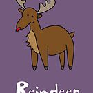 R for Reindeer by Gillian J.