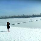 Frozen lake.... by Ana Belaj