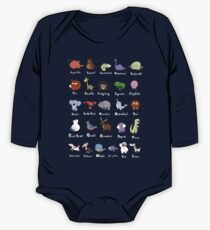 The Animal Alphabet One Piece - Long Sleeve