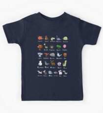 The Animal Alphabet Kids Tee