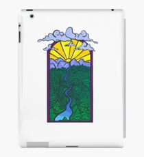 Sunset mountains  iPad Case/Skin