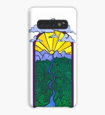 Sunset mountains  Case/Skin for Samsung Galaxy