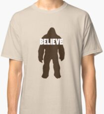 Bigfoot Believe Classic T-Shirt