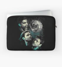 The Mountain Team Free Will Moon - Supernatural Edition Laptop Sleeve