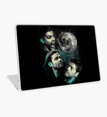 The Mountain Team Free Will Moon - Supernatural Edition Laptop Skin