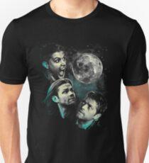 Das Bergteam Free Will Moon - übernatürliche Ausgabe Slim Fit T-Shirt