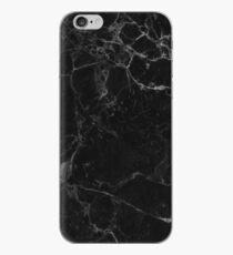 Marmor schwarz iPhone-Hülle & Cover