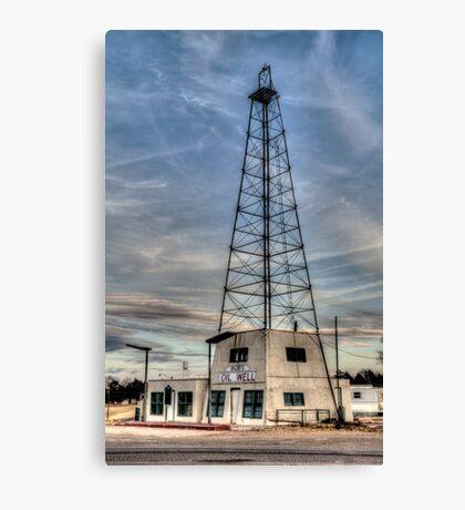 Bob's Oil Well (Matador, Texas) Canvas Print