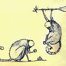 Strange monkeys by Ben Cresswell