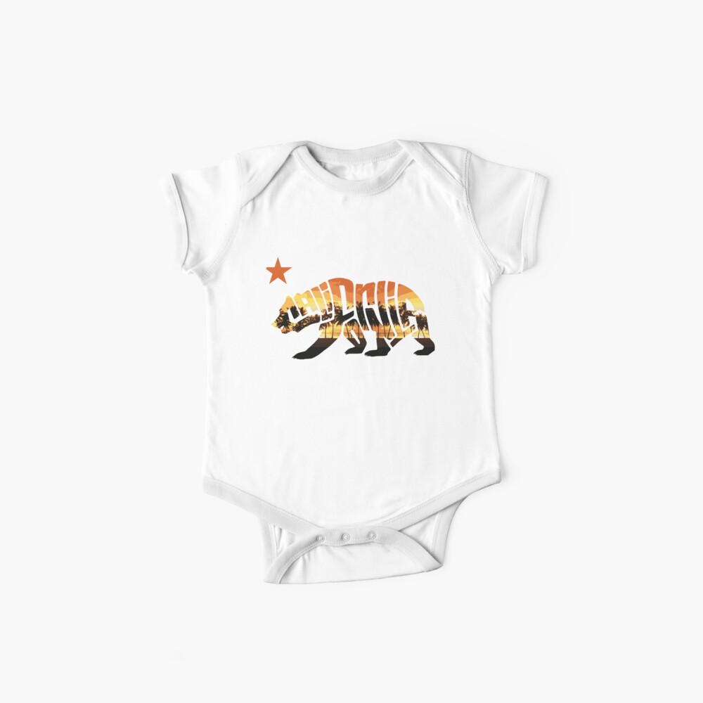 CALIFORNIA BEAR Baby One-Pieces