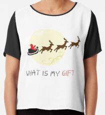 Christmas gift Chiffon Top