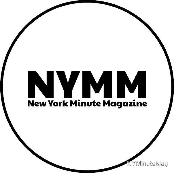 NYMM Pop socket Sticker (White) by NYMinuteMag