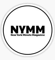 NYMM Pop socket Sticker (White) Sticker