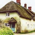 Little Thatched Cottage by Vicki Field