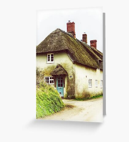 Little Thatched Cottage Greeting Card