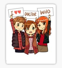 11th Doctor Squad Sticker