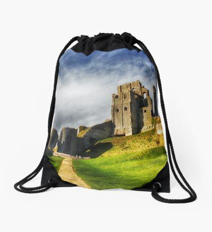 The Old Castle Drawstring Bag