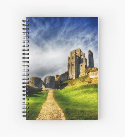 The Old Castle Spiral Notebook