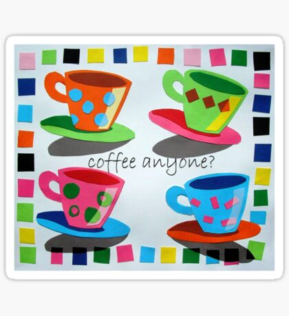 Coffee anyone? Sticker