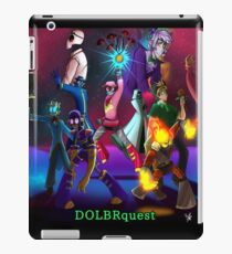Galaxy - DOLBRquest iPad-Hülle & Klebefolie