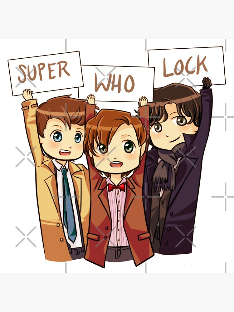 Chibi SuperWhoLock von ScissorCrazy