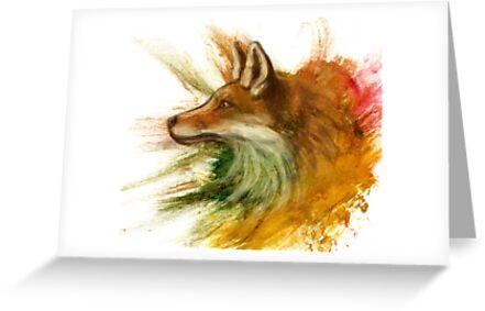 Fox by Ine Spee