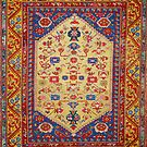 Demerci Kula Antique Turkish Rug by Vicky Brago-Mitchell