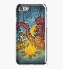 Campfire marshmallows iPhone Case/Skin