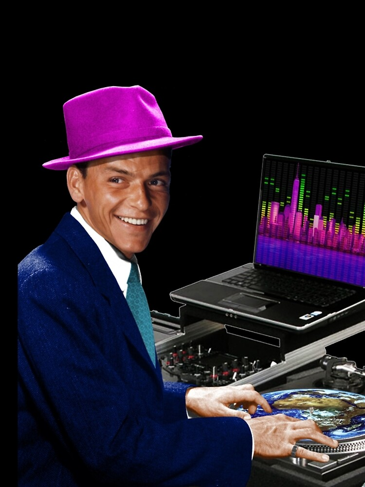 """DJ Frank Sinatra """"The Voice of the World"""" by worn"""