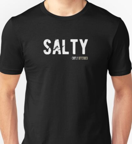 Salty Vintage Funny Urban Dictionary Millennial Quote T-Shirt