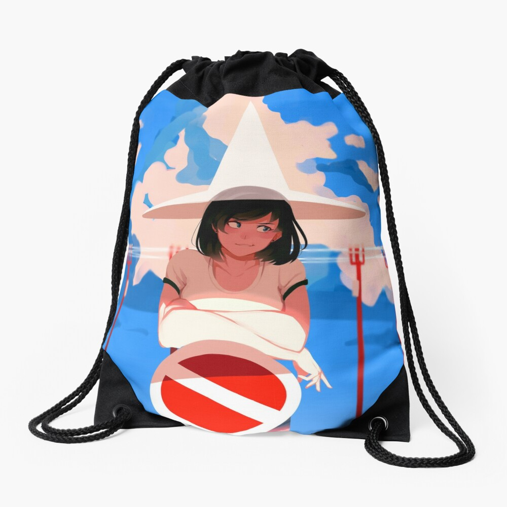 summer magic Drawstring Bag