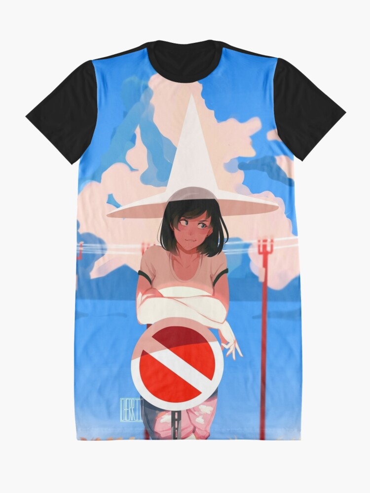 Alternate view of summer magic Graphic T-Shirt Dress