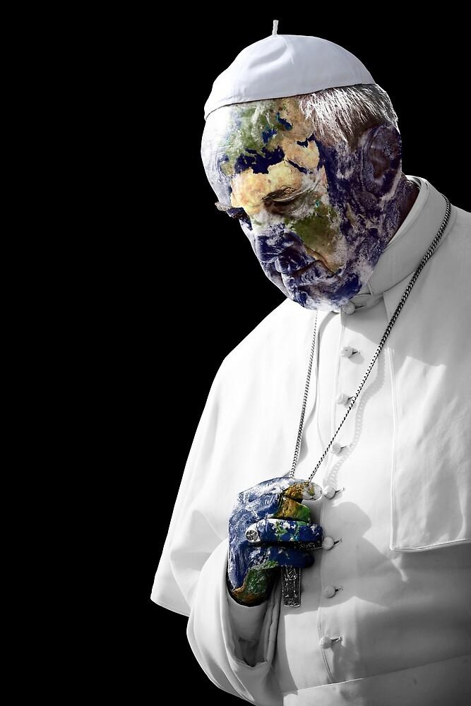 Earth Pope Francis by O O