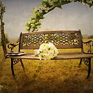 wedding bench by claudiaveja