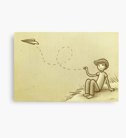 Paperplane Canvas Print