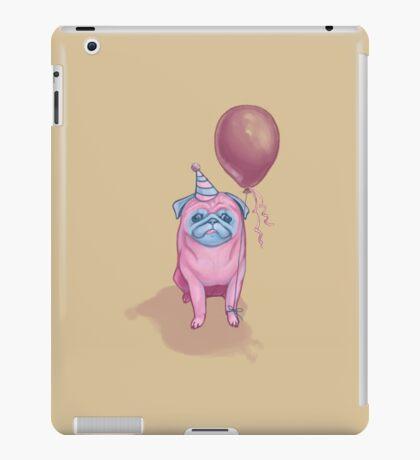 Party pug iPad Case/Skin
