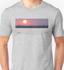 Venetian Lagoon at Sunset Unisex T-Shirt
