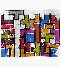 Life as Tetris Poster
