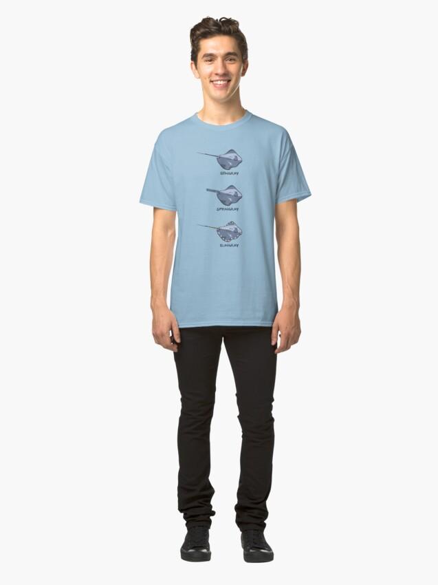Alternate view of Stingrays of the World Classic T-Shirt