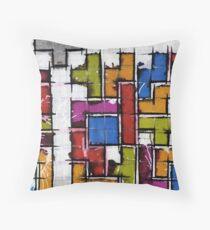 Life as Tetris Throw Pillow