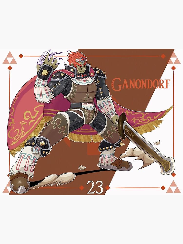 Smash Ultimate 23 Ganondorf Greeting Card