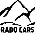 Sticker - CO C&C Mountain Logo by COCarsAndCoffee
