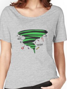 Supernatural: It must be a Tuesday! (Candy Version) Women's Relaxed Fit T-Shirt