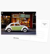 Retro Beetle Postcards
