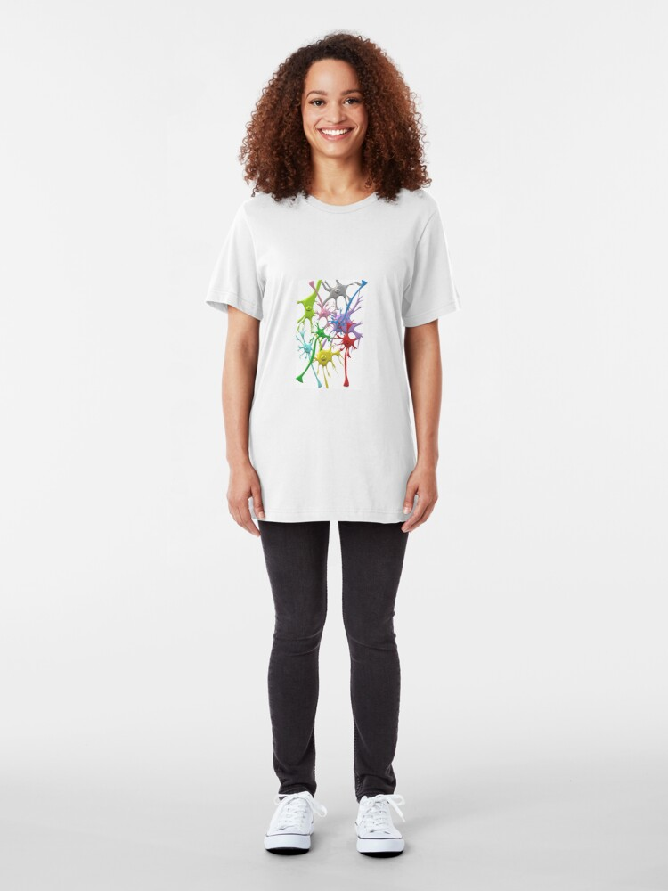 Alternate view of Neuron Network Slim Fit T-Shirt